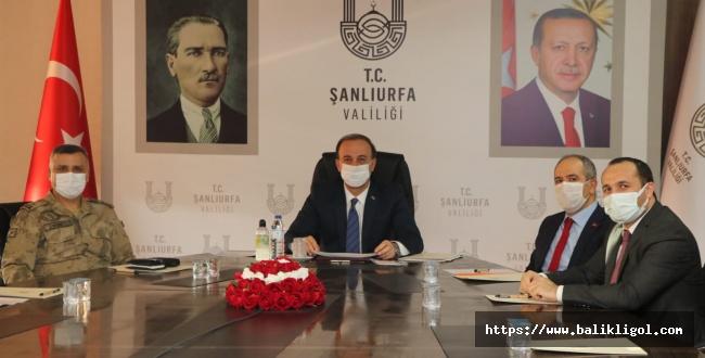 Şanlıurfa İl Pandemi Kurulu Toplandı