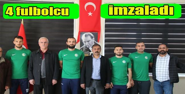 Şanlıurfaspor'da transfer tahtası açıldı! 4 oyuncu ile anlaşma imzalandı
