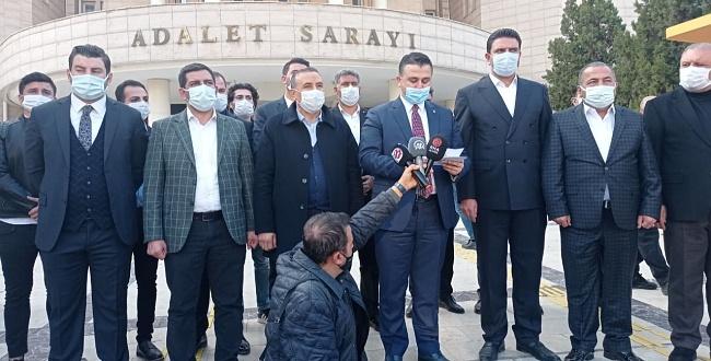 Urfa AK Parti'den Başbuğ, Ataklı ve Sağlar hakkında suç duyurusu