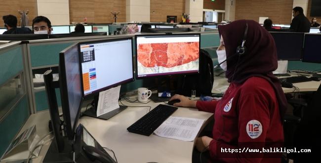 Urfa'da 2020 Yılında 112'ye Rekor İhbar Yapıldı