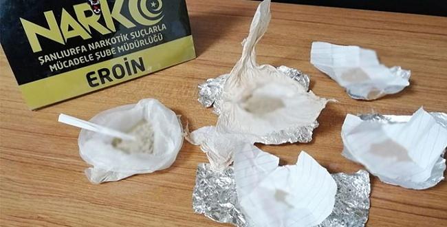 Urfa'da uyuşturucu operasyonda 6 kişi tutuklandı