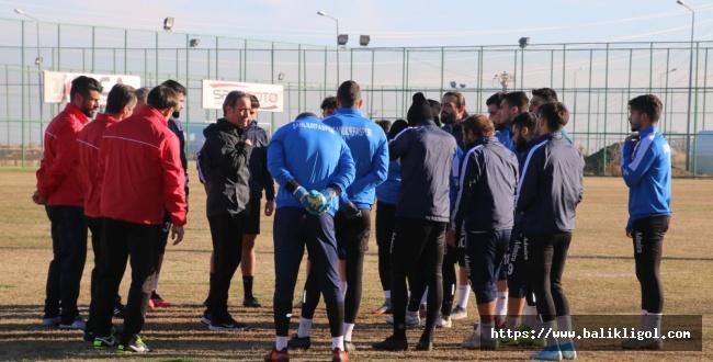 Urfaspor Sezonun 2.  Yarı İlk Maçı İçin Hazırlıklarına Başladı