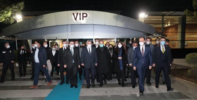 AK Parti Genel Başkan Yardımcısı Özhaseki Şanlıurfa'ya geldi