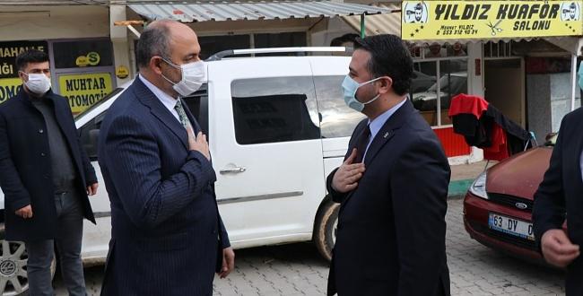 Başkan Yıldız'dan Bozova'ya helallik ziyareti