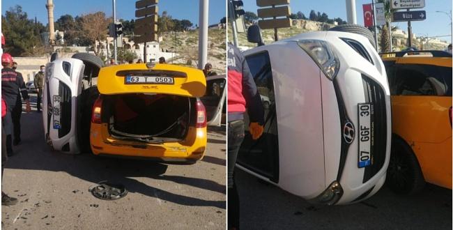 Haliliye'de trafik kazasıı: 2 yaralı