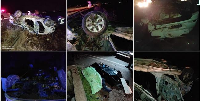 Harran'da feci kaza: 4 ölü