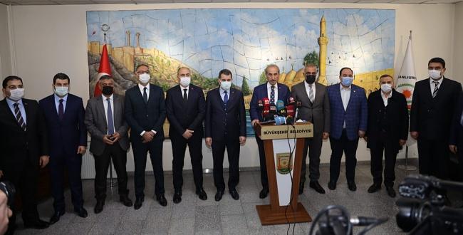 İlçe Belediye Başkanlarından Başkan Beyazgül'e Destek Açıklaması