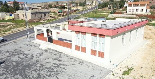 Karaköprü Sayburç'ta çok amaçlı salon hizmete hazır hale getirildi