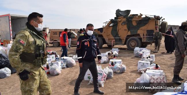 Konyalı Hayırseverlerin Yardımları Resulayn'a Ulaştı
