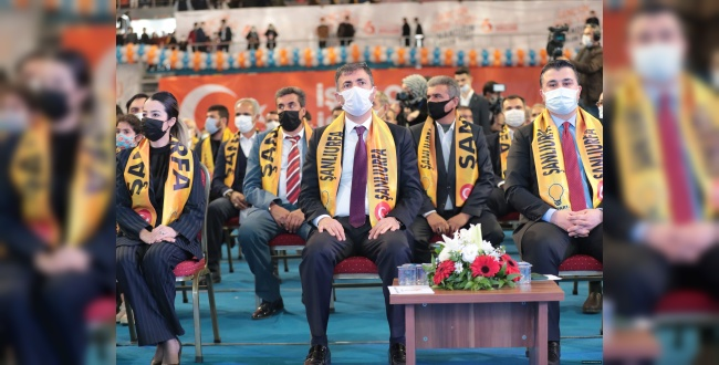 Şanlıurfa AK Parti Gençlik Kolları Kongresi Yapıldı