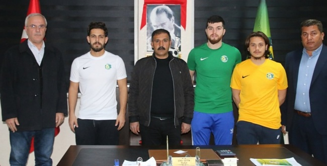 Şanlıurfaspor'a 3 transfer daha