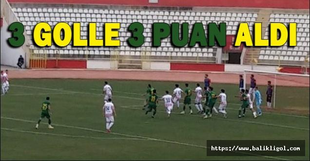 Urfaspor Maraş Deplasmanında 3 golle 3 puan aldı