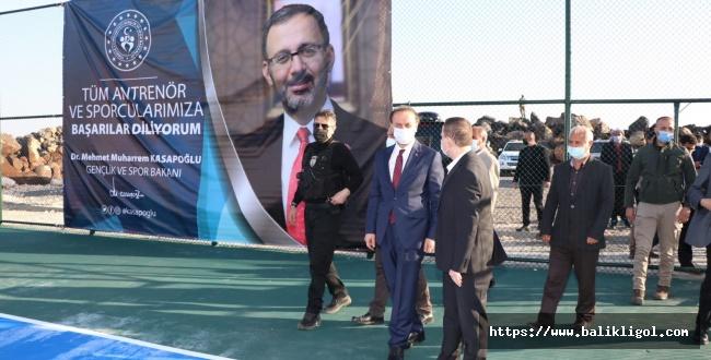 Viranşehir Sarıbal Köyü Spor Tesislerine Kavuştu