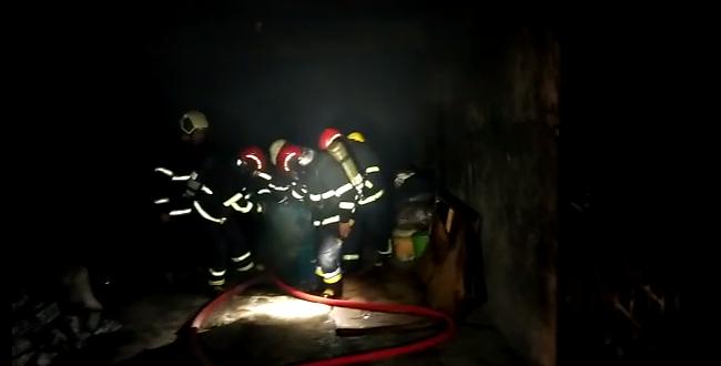 Eyyübiye'de yangın, İtfaiye müdahale etti