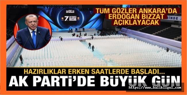 AK Parti 7. Büyük Kongresinde Gözler Erdoğan'da! Yeni Manifesto Açıklanacak