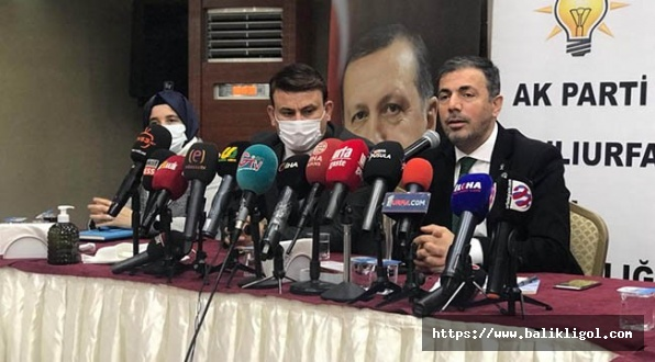 AK Parti Şanlıurfa İl Başkanı Kırıkçı Basın Toplantısı Düzenledi