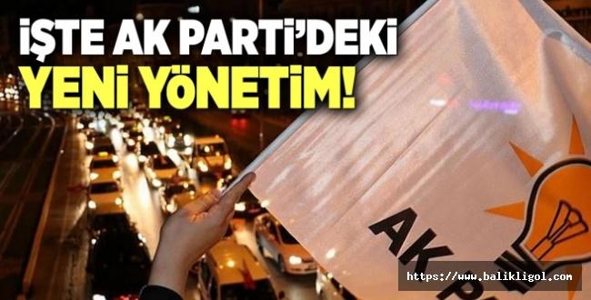 AK Parti Yönetimi Belirlendi! Binali Yıldırım'a yeni görev