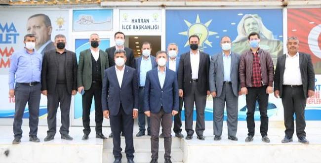 Başkan Kırıkçı, Harran'a çıkarma yaptı