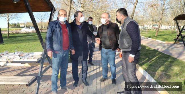 BAŞKAN BAYDİLLİ KARAKÖPRÜ'YÜ SOKAK SOKAK GEZİYOR