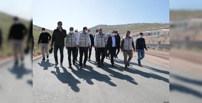 Başkan  Beyazgül, Eyyübiye Çevre Yolunda Çalışmaları İnveledi