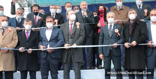 Çevik Kuvvet Köprülü Kavşağı, Ulaştırma Bakanı Adil Karaismailoğlu'nun Katılımı İle Açıldı