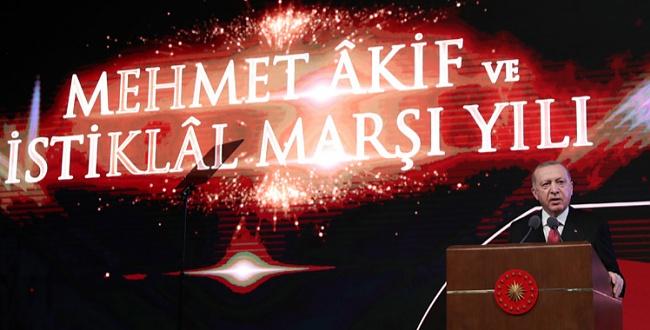 Erdoğan: İstiklal Marşı bizim ortak andımızdır