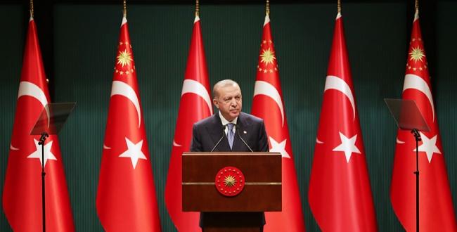 Erdoğan: Normalleşme uygulamaları bir süre daha devam edecek