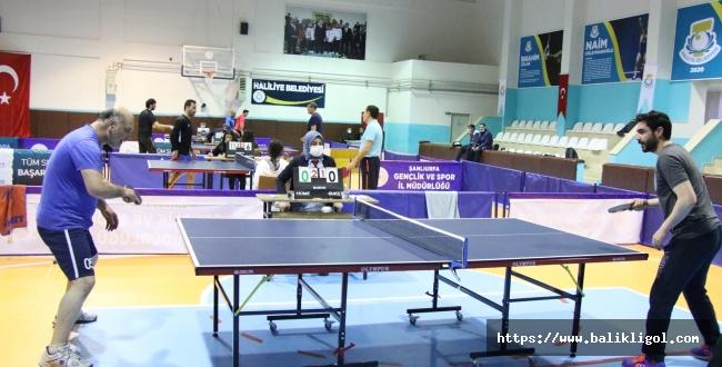 Haliliye Masa Tenisi Ligi Başladı