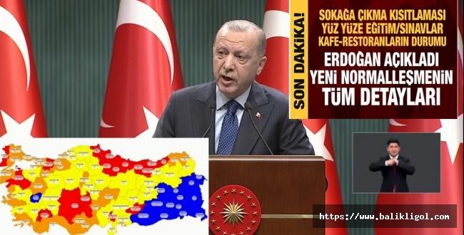 Kabine Toplantısının Ardından Erdoğan alınan Kararları Açıkladı