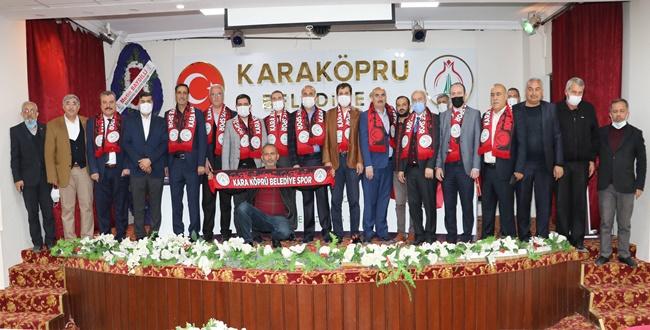 Karaköprü Belediyespor' da Olağanüstü Kongreye Gitti