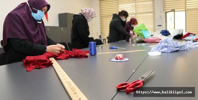 Karaköprü'de Kadınlara Yönelik Meslek Kursu