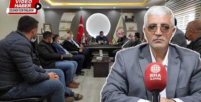 Şanlıurfa Gıda Toptancıları Dernek Başkanı Demirel yeniden seçildi