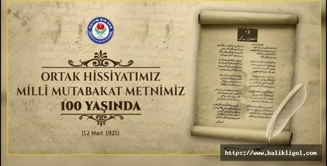 Sendika Başkanı Coşkun'dan İstiklal Marşı Mesajı: Ortak hissiyatımız