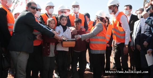 Süleymanşah Gençlik Merkezinin temeli törenle atıldı