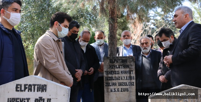 Tenekeçi Mahmut Güzelgöz Mezarı Başında Anıldı