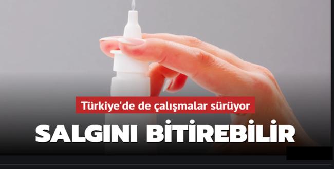 Türkiye Geliştirdi! Aşıya gerek kalmayacak