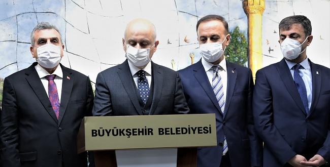 Ulaştırma Ve Altyapı Bakanı Karaismailoğlu, Başkan Beyazgül'ü Makamında Ziyaret Etti