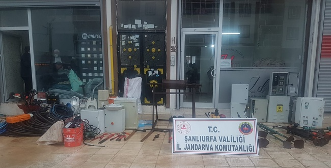 Urfa'da Azılı Hırsız Düzenlenen Operasyonla Gözaltına alındı!