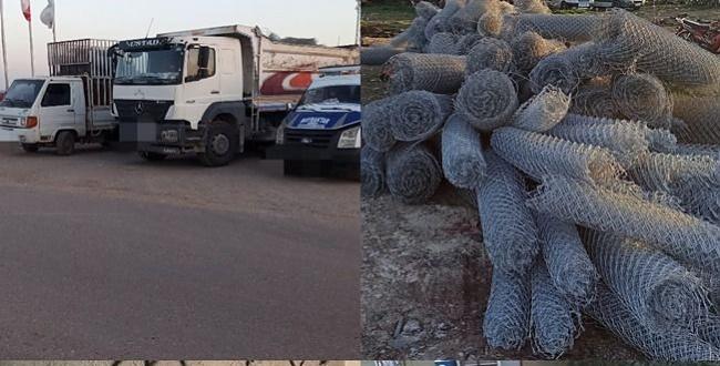 Urfa'da tel hırsızları yakalandı