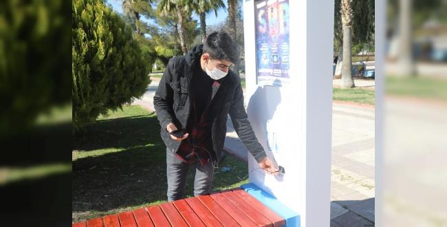 Urfa'da Şarj Eden Akıllı Bank kuruldu