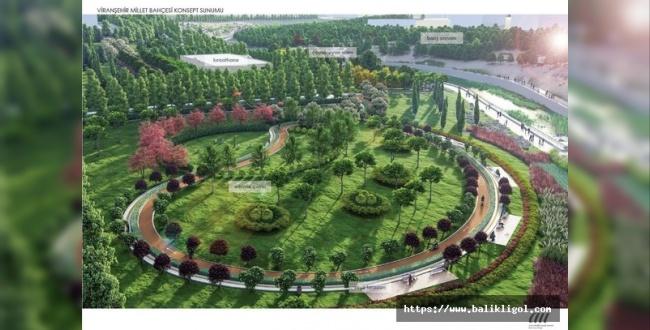 Viranşehir Millet Bahçesi 200 Bin Metrekareye Yapılacak