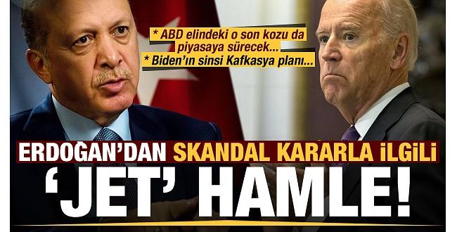 ABD'nin Sıykırım Yalanına Türkiye'nin İlk Cevabı Bakın ne oldu?