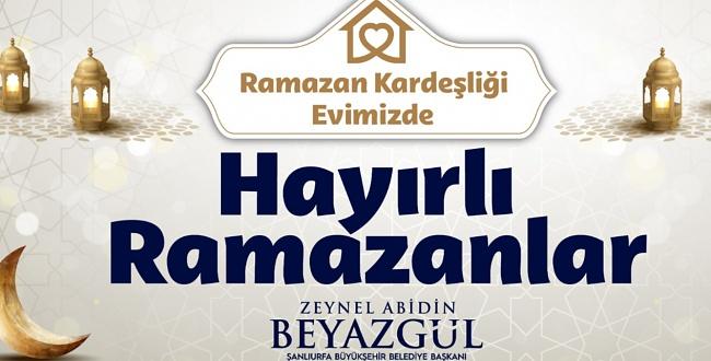 Başkan Beyazgül'den Ramazan Ayı Mesajı