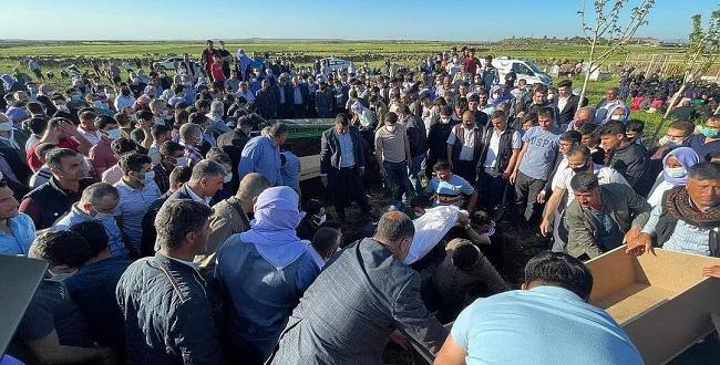 Boğulan 3 çocuk Şanlıurfa'da toprağa verildi