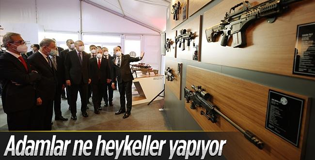 Erdoğan, Barutsan Roket ve Patlayıcı Fabrikası'nın üretim tesisi açılışını gerçekleştirdi
