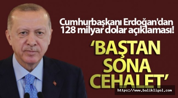 Erdoğan'dan tokat gibi cevap!  Cehalet deyip geçmemek lazım