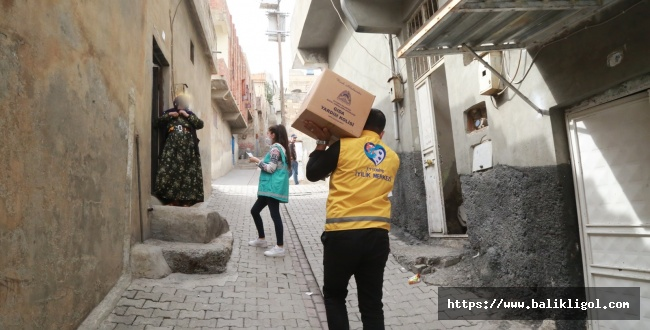 Eyyübiye'de Muhtaçlar İçin Yükü sırtlıyorlar