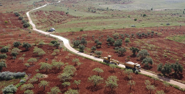 Halfeti Kırsalında Yol Çalışmaları Hızlandı