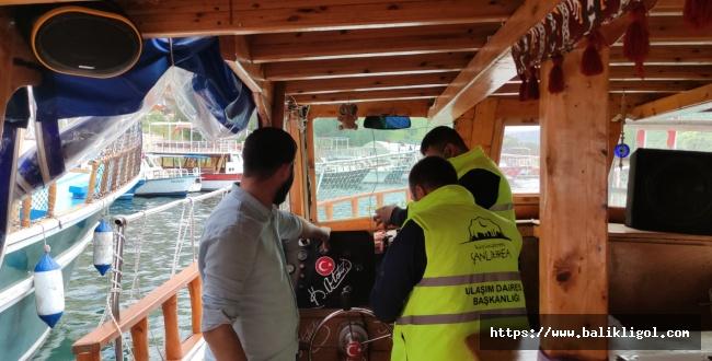 Halfeti'deki Gezi Teknelerinin Takip İçin Çip Takıldı