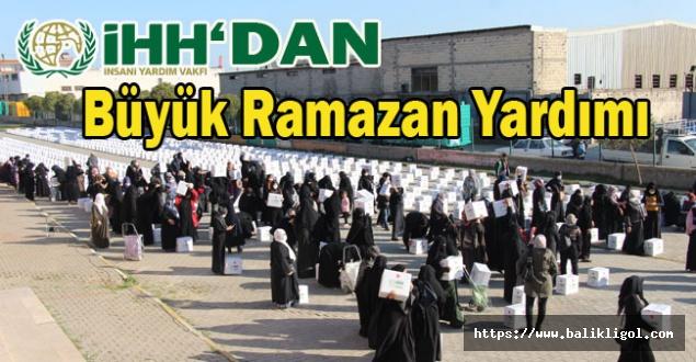 İHH Ramazan Öncesi Garibanları Sevindirdi